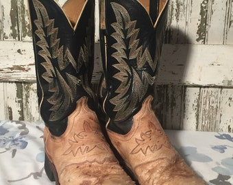 Vintage Lucchese Boots mens size 7D