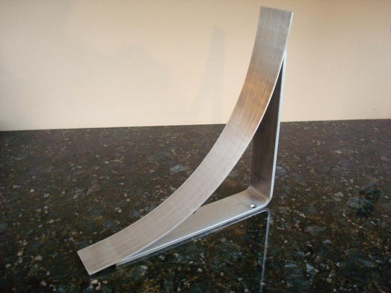 11 inch brushed stainless steel countertop corbel support for Modern corbels for granite countertops