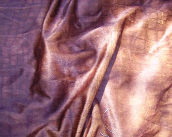 NO. 97 FABRIC FAUX FUR BROWN SKIN