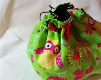 Bright Owl Pouch Bag