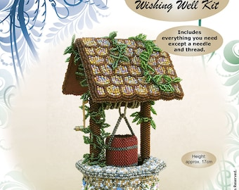Bead Embroidered Wishing Well Kit