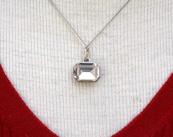 Crystal Aura Necklace Vintage