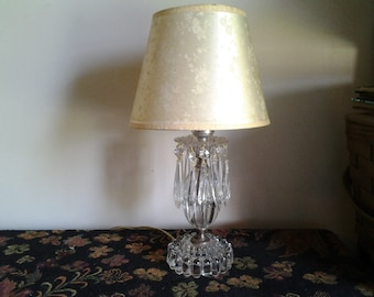 Small anitque lamp
