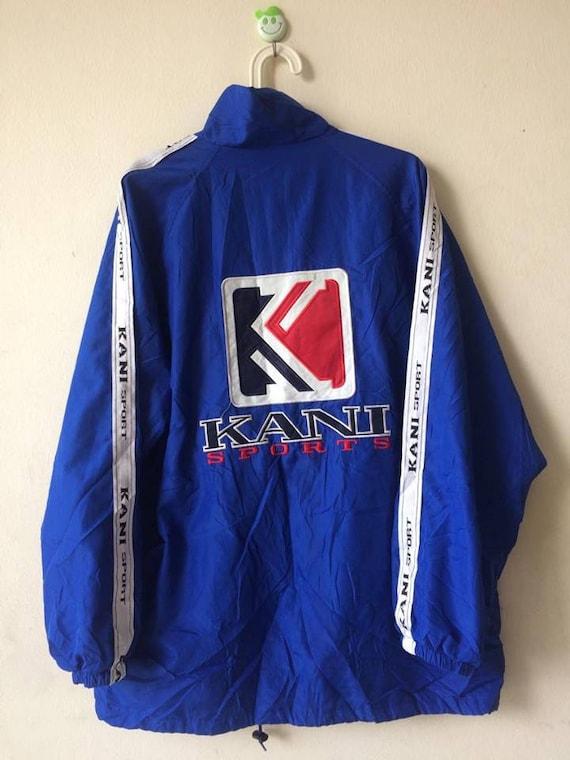Vintage Kani Endurance Big Logo Spell out Embroidery Sportswear Jacket xV1fZ
