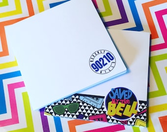 POST-ITS 1990s (Select Style) Saved by the Bell, Beverly Hills 90210