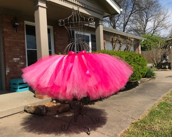 """Extremely Full Tutu """"Flamingo""""  waist up to 34 1/2"""" great for Mommy and me, Maternity tutus, Bridal and Bachelorette parties"""