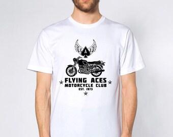 KillerBeeMoto: Flying Aces Shirt Short & Long Sleeve Motorcycle Shirts