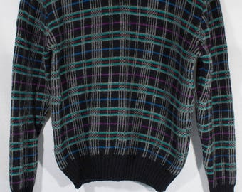 Vintage JCPenney Hunt Club Pullover Sweater M 38/40 Wool