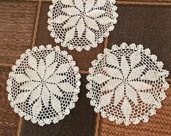 White Crochet Doily