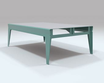 Havant Lounge Table - Aqua