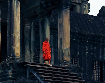 Morning Prayer in Angkor Wat