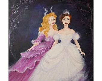 Rodgers and Hammerstein's Broadway Cinderella Print