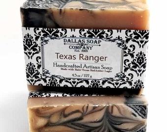 Texas Ranger Beer Soap