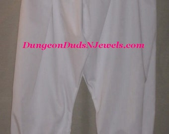 DDNJ Choose Color Bloomer Pantaloon Cosplay Larp Anime Plus Custom Made ANY Size Renaissance Steampunk Gothic Civil War Pirate Gypsy Costume