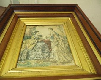 1800's Lithograph by Anais Toudouze