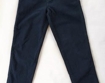 Vintage indigo Blue denim