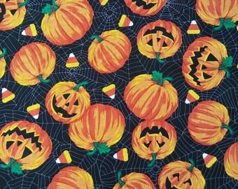 Halloween Pumpkins & Candy Corn Pet Bandana