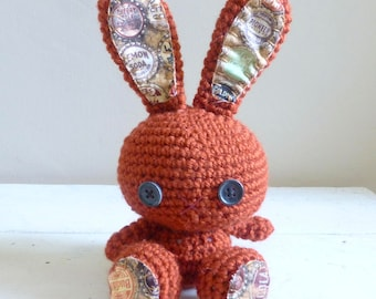 Cute Stuffed Animal, Bunny Stuffed Animal, Crochet Bunny, Plush Stuffed animal, ready to ship