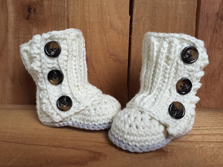Crochet baby boots baby boots baby wrap boots baby