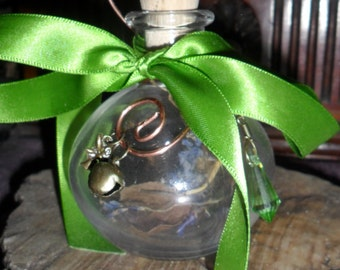 Celtic Faery Wish Witch Bottle