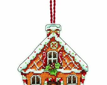 Dimensions Gingerbread House Ornament