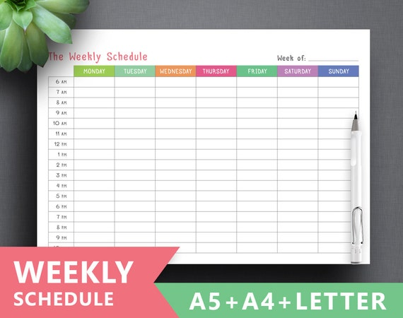 Exhilarating image with regard to schedule printable