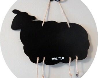 Sheep black ( Memo )  board  x 1