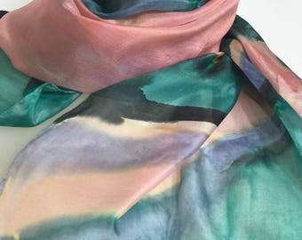 SALE! Peach Orchard Silk Wrap Comfort and Transformation