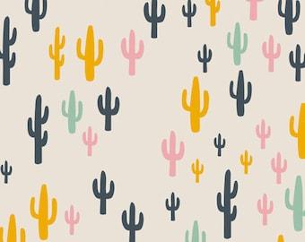 Cactus Fabric - Art Gallery Fabrics - Morning Walk Cacti Field Fun