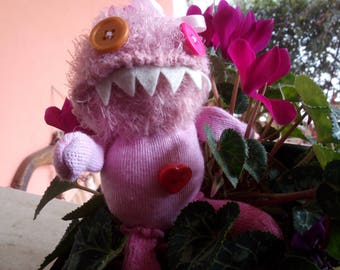 Pink Monster Plush