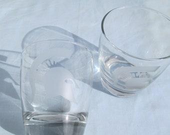 Set of 2 Trojan helmet glasses
