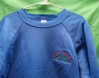 Vintage 80s/90s Plus Mark Crewneck Sweatshirt Embroidered XL Tultex Made in  USA Patagonia LL
