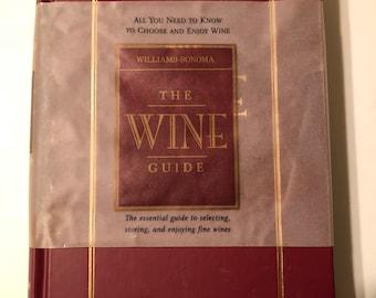 1999 Williams-Sonoma The Wine Guide book