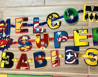 Baby Superhero's Banner