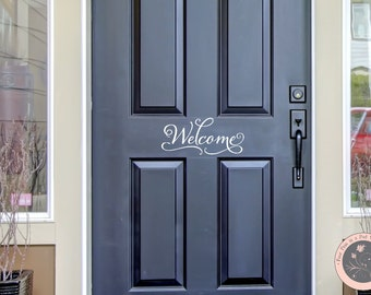 Captivating Welcome Sign Front Door Wall Decal   Front Door Sign   Welcome Sign   Front  Door Decoration   Front Door Decor   Welcome Decal   Wall Decal