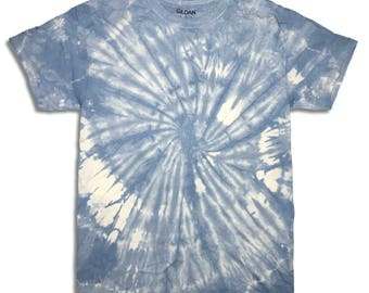 Indigo Tie Dyed Tee Medium