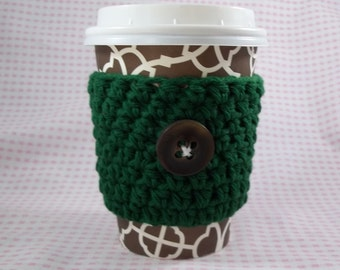 Coffee Cup Cozy, Reusable Coffee Sleeve, Coffee Cozy, Crochet Coffee Cozy, Coffee Cup Sleeve, Cup Cozy, Coffee Sleeve