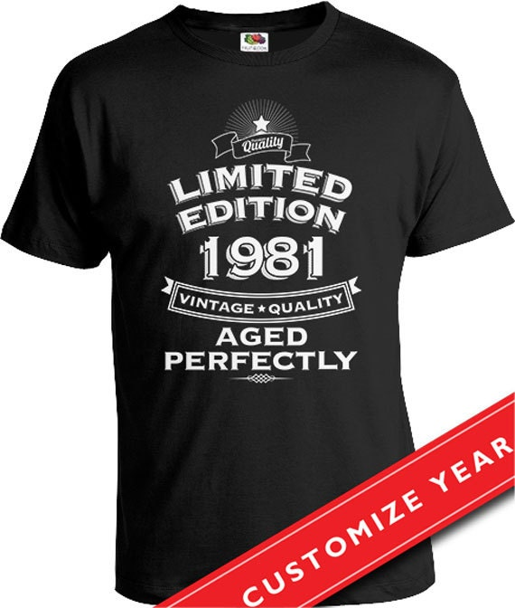 35th Birthday Gifts For Men: Gift Ideas For 35 Year Old 35th Birthday T Shirt 35th Birthday
