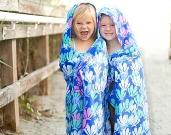 Monogrammed Beach Towel, Kids Beach Towel, Monogrammed gifts, Monogram Beach Towels, Kids Hooded Beach Towels, Toddler Beach Towel