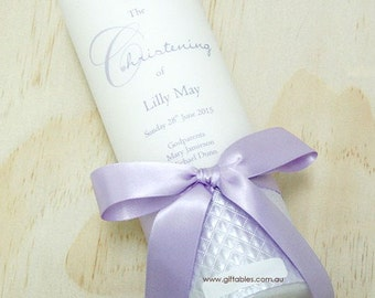 Personalised Christening / Baptism Candle - CDG06