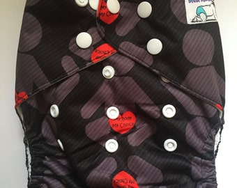 Intact Cloth Diaper Print - pocket style