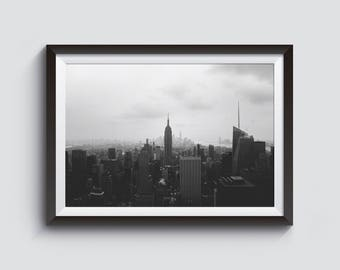 New York City Skyline Print