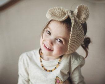 PATTERN dollface bow tie up headband