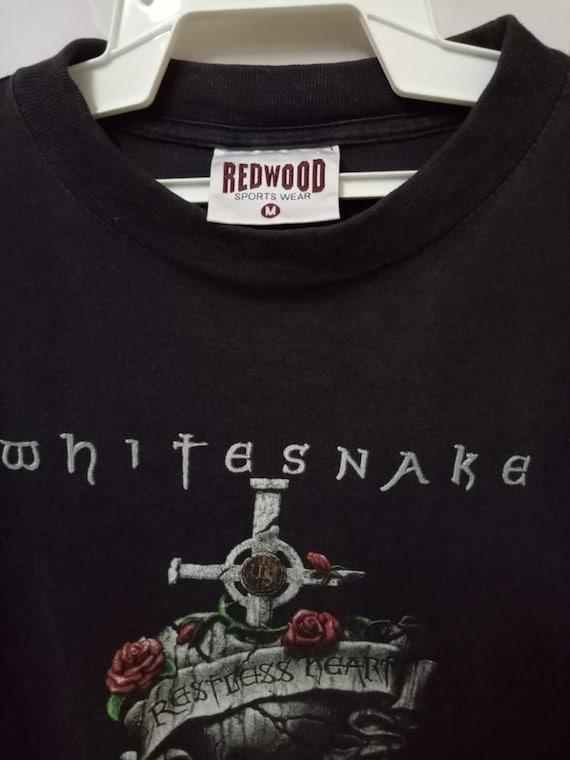 band Restless rock 90s Longsleeve heavy UK fall shirt tee Heart Vintage hard Coverdale 1994 t promo David WHITESNAKE british live tour x0wpxd6
