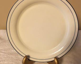 Lenox Blue Pinstripe Salad Plate