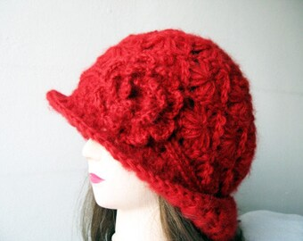 Tutorial  Crochet Hat, Woman Hat Pattern, DIY Crochet Hat, Crochet Hat Pattern, Hat Beanie, Instant Download PDF, Hat Pattern