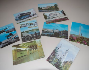 Minsk Russia Vintage Postcard Booklet 1992 Mihck