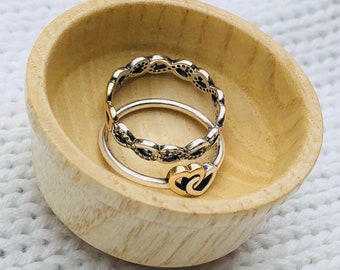 Hand-Turned Ring Bowl - Ash