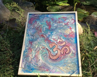 OM Meditation Painting (large) Ready to hang