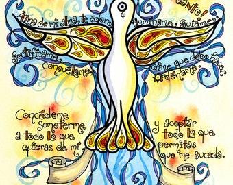 Oración al Espíritu Santo, Regalo de la Confirmación Personalizada, personalized Confirmation gift, Holy Spirit Prayer in Spanish, Catholic